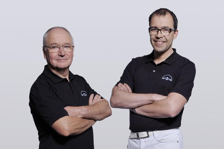 Dr. Marcus Maier und Dr. Karl Laque