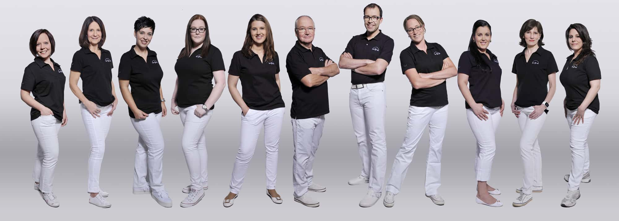 Team der orthopädischen Praxis Maier in Dillingen
